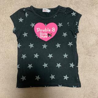 ミキハウス(mikihouse)のミキハウス Tシャツ 黒(Tシャツ/カットソー)