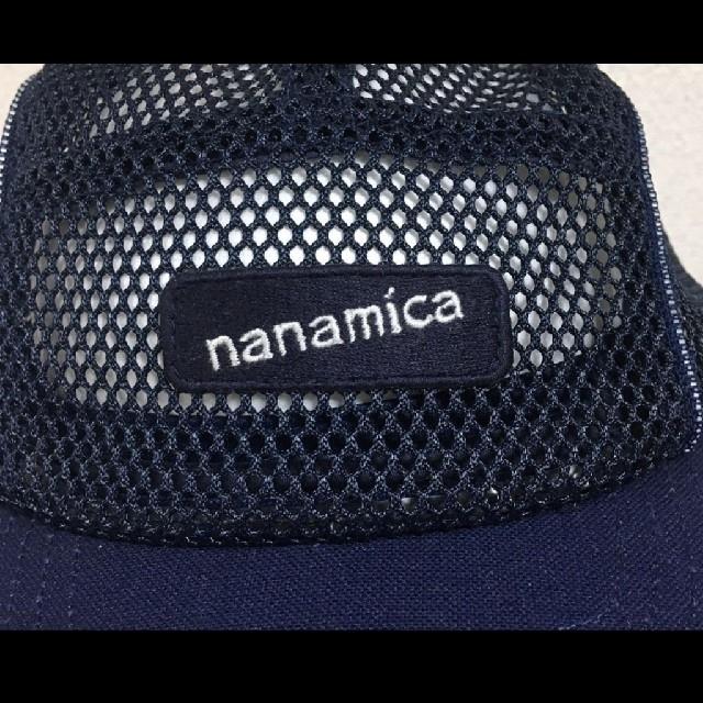 nanamica(ナナミカ)のナナミカ メッシュキャップ ネイビー 総メッシュ フリーサイズ ノースフェイス メンズの帽子(キャップ)の商品写真