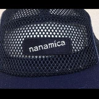 ナナミカ(nanamica)のナナミカ メッシュキャップ ネイビー 総メッシュ フリーサイズ ノースフェイス(キャップ)