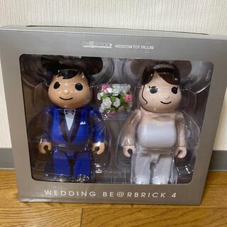 メディコムトイ(MEDICOM TOY)のBE@RBRICK グリーティング 結婚 4 PLUS 400% (キャラクターグッズ)