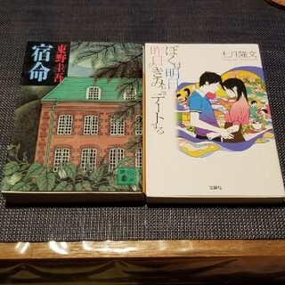 小説2点セット⭐まとめ売り(文学/小説)