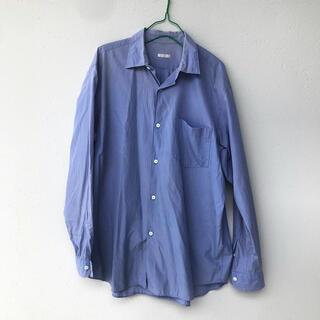 コモリ(COMOLI)のCOMOLI 名作 コモリシャツ サイズ2 サックスブルー(シャツ)