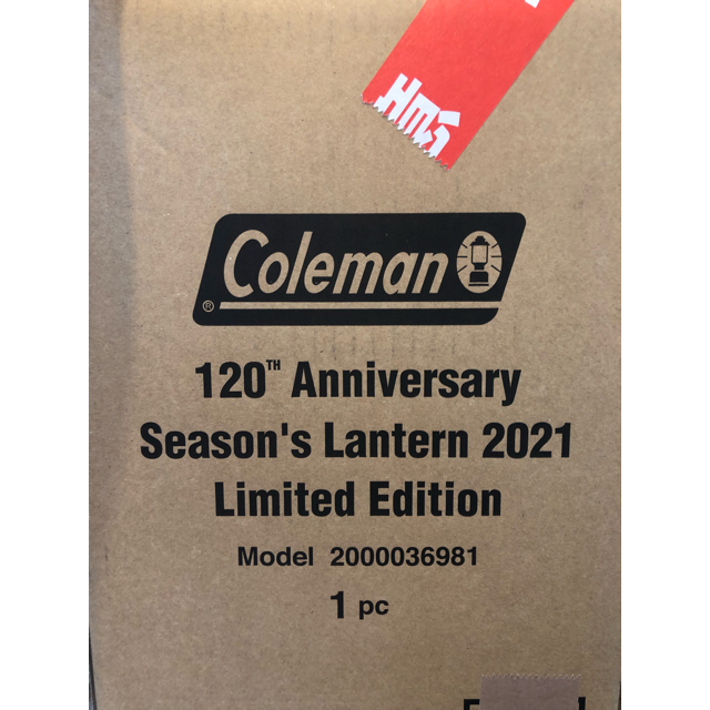 Coleman(コールマン)のコールマン 120thアニバーサリー シーズンランタン2021 新品・未使用 スポーツ/アウトドアのアウトドア(ライト/ランタン)の商品写真