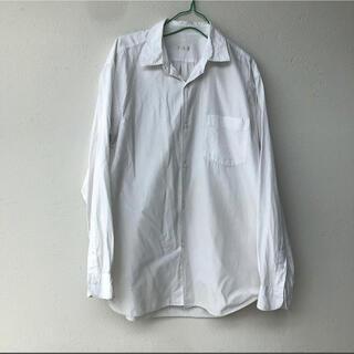 コモリ(COMOLI)のCOMOLI 名作 コモリシャツ サイズ2 ホワイト(シャツ)