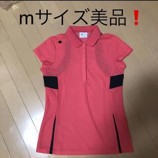 DESCENTE - DESCENTEレディース 韓国シャツMサイズ美品❗️
