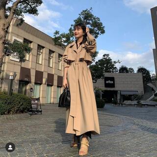Noble - かじまり L'Orロル  Stand-collar Long Coat