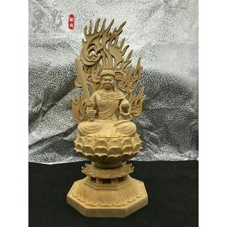 極上品  不動明王  供養品  無病息災  仏壇仏像  精密細工  仏教工芸品 (彫刻/オブジェ)