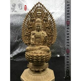 仏壇仏像  供養品  普賢菩薩  極上品 彫刻  精密細工  災難除去  仏教工(彫刻/オブジェ)