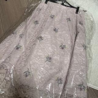 LAISSE PASSE - レッセパッセ 刺繍スカート
