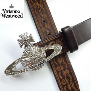 Vivienne Westwood - 【美品】ヴィヴィアン ウエストウッド ベルト オーブ メタル  バックル