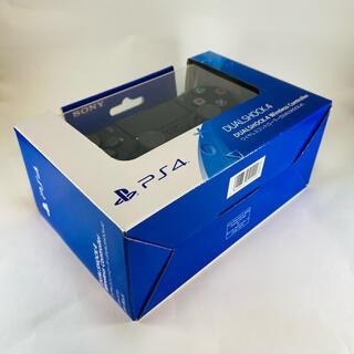PlayStation4 - 【保証書付き】純正品 デュアルショック4 ジェットブラック
