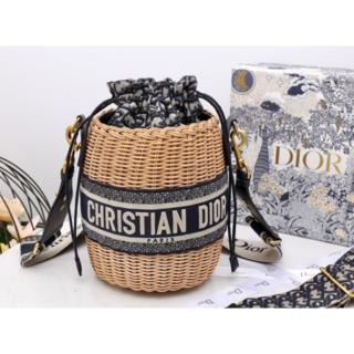 Dior - DIOR WICKER バケットバッグ