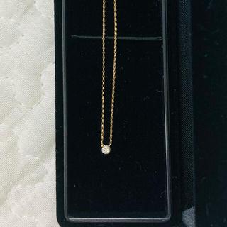 AHKAH - AHKAH アーカー k18 ピュアダイヤ ネックレス
