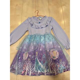 シマムラ(しまむら)の子供服 エルサ ワンピース(ワンピース)