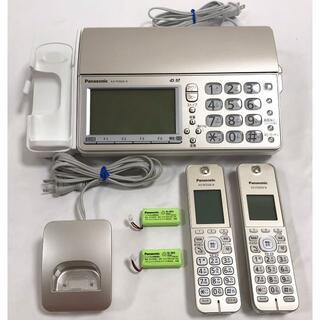 Panasonic - ☆美品 パナソニック おたっくす FAX 子機1台付き KX-PD604DL-N