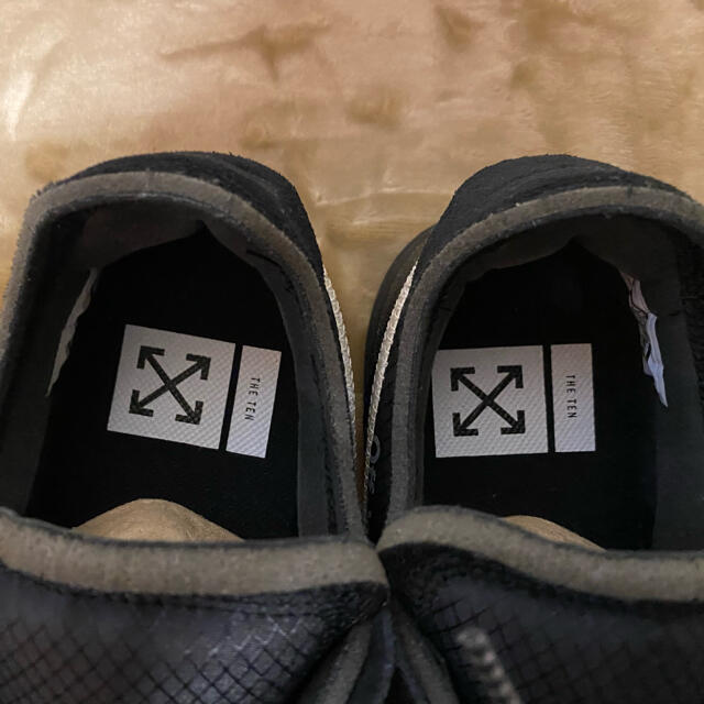 NIKE(ナイキ)のTHE TEN off-white NIKE AIR FORCE 1 US9.5 メンズの靴/シューズ(スニーカー)の商品写真