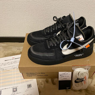 NIKE - THE TEN off-white NIKE AIR FORCE 1 US9.5