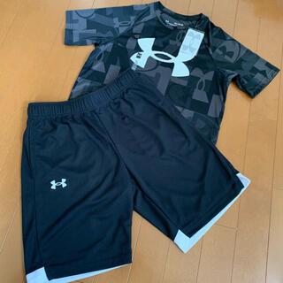 UNDER ARMOUR - アンダーアーマー 半袖Tシャツ&バスケパンツ160
