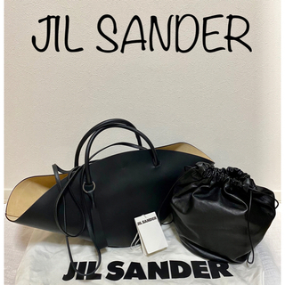 Jil Sander - まめさん専用 ★新品未使用★JIL SANDER sombrero黒ミディアム