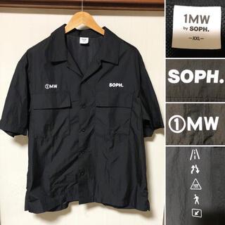 ジーユー(GU)の即完売品❗️SOPHNET. × GU オープンカラーシャツ 1MW by ソフ(シャツ)