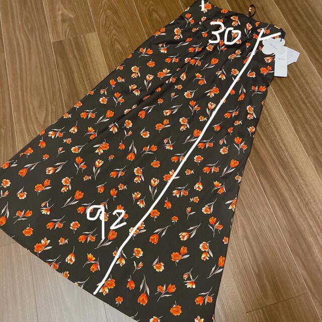 Lily Brown(リリーブラウン)のLily Brown  花柄ロングスカート レディースのスカート(ロングスカート)の商品写真