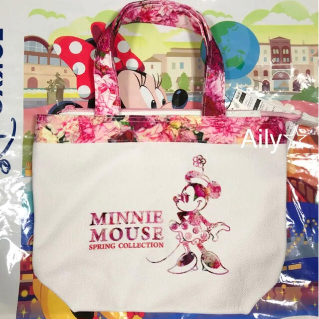 Disney(ディズニー)の新作♡ イマジニングザマジック ミニー トートバッグ スプリング レディースのバッグ(トートバッグ)の商品写真