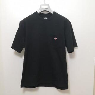 ダントン(DANTON)のDANTON|ダントン ポケット ロゴTシャツ JD-9041 42 ブラック(Tシャツ/カットソー(半袖/袖なし))