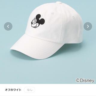 プティマイン(petit main)のプティマイン ミッキー フェイスキャップ(帽子)