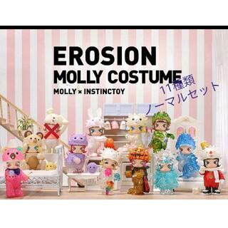 POPMART EROSION MOLLY シーツ 11種類 セット(キャラクターグッズ)