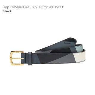 Supreme - S/Mサイズ Supreme Emilio Pucci Belt Black