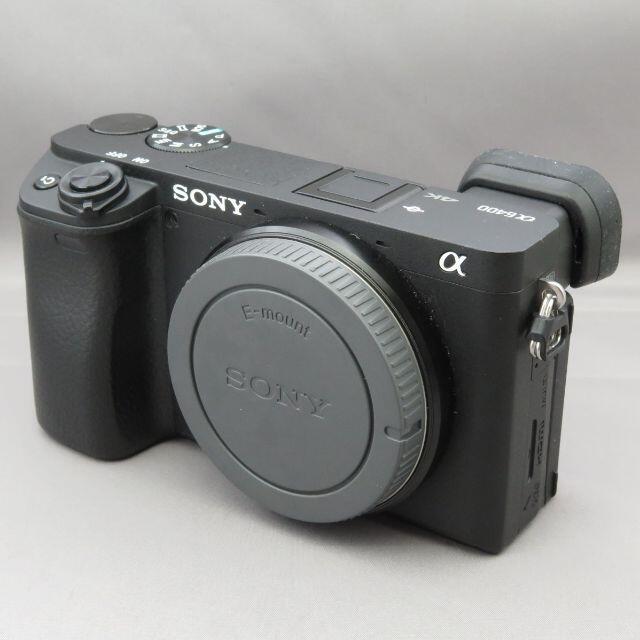 SONY(ソニー)のぽぽ様専用ソニー α6400 ILCE-6400 スマホ/家電/カメラのカメラ(ミラーレス一眼)の商品写真