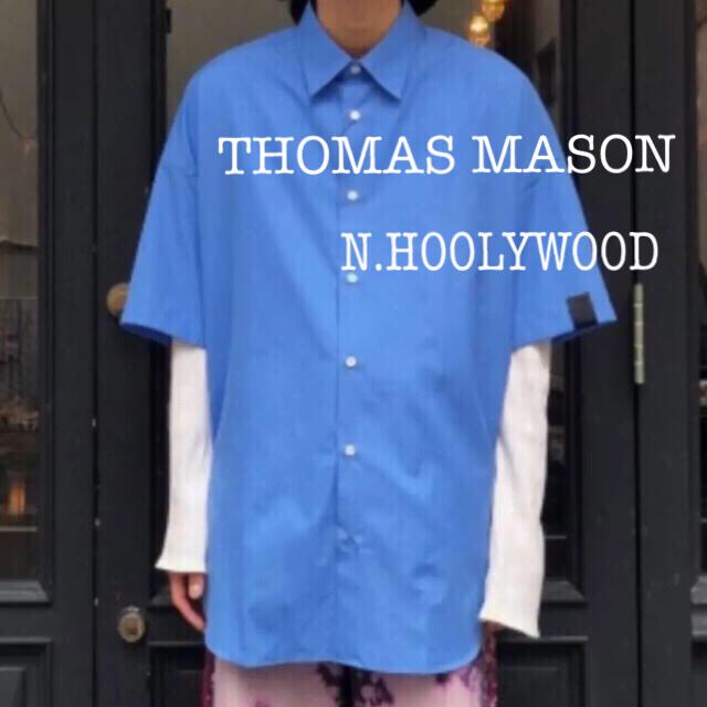 N.HOOLYWOOD(エヌハリウッド)のTHOMAS MASON  N.HOOLYWOOD エヌハリウッド  半袖シャツ メンズのトップス(シャツ)の商品写真