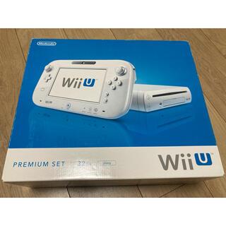 ウィーユー(Wii U)のWii  u 本体 新品未使用(家庭用ゲーム機本体)