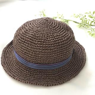 キッズ ベビー  麦わら帽子  (帽子)
