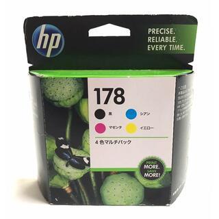 ヒューレットパッカード(HP)の☆ 未使用品 HP純正 インクカートリッジ HP178 4色マルチパック(PC周辺機器)