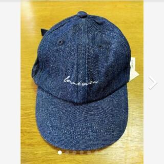 新品 コムサイズム キッズキャップ 帽子 デニム 50-53 おまけ付きメッシュ(帽子)