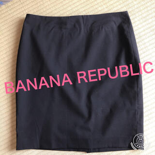 Banana Republic - 「BANANA REPUBLIC/バナナ・リパブリック 黒タイトスカート