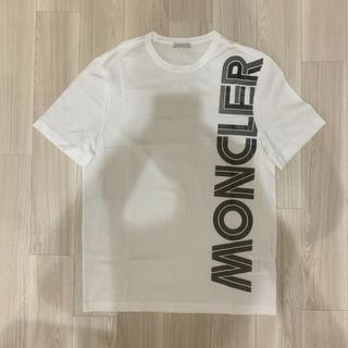 モンクレール(MONCLER)の[新品同様]モンクレール Tシャツ ホワイト S(Tシャツ/カットソー(半袖/袖なし))