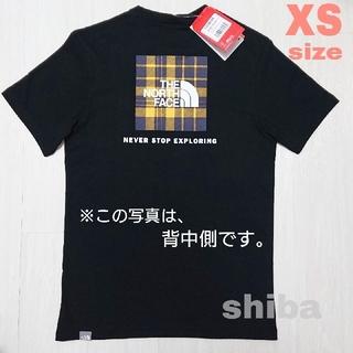 THE NORTH FACE - ノースフェイス tシャツ Red Box check 海外XS