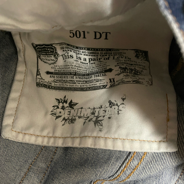 Levi's(リーバイス)の【32x32】denimtears x levi's メンズのパンツ(デニム/ジーンズ)の商品写真