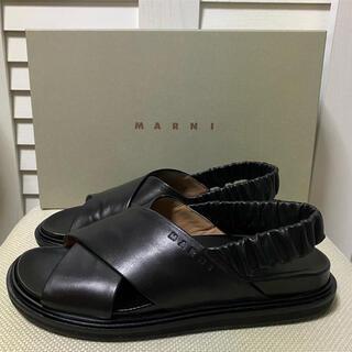 Marni - MARNI フスベット クロススタイルサンダル