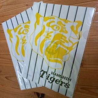ハンシンタイガース(阪神タイガース)の阪神タイガース クリアファイル2枚(記念品/関連グッズ)