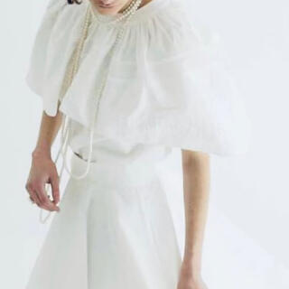 Drawer - she tokyo ブラウスMargaret ホワイト 新品未使用品です。