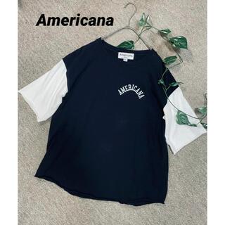 AMERICANA - アメリカーナ Americana   ロゴTシャツ カットソー