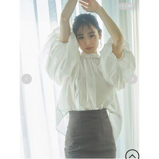 スナイデル(snidel)のchiaki様専用♡snidel♡ボリュームシアーブラウス(シャツ/ブラウス(長袖/七分))