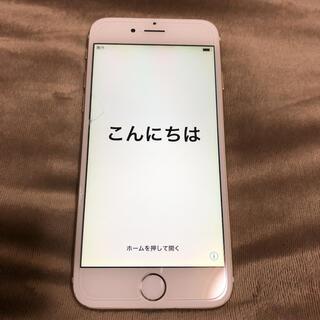 アイフォーン(iPhone)のiPhone6 64GB ゴールド(スマートフォン本体)