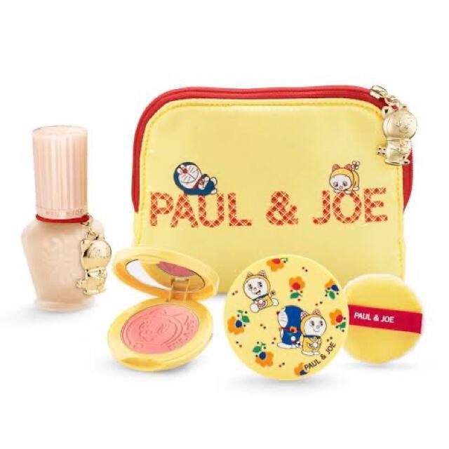 PAUL & JOE(ポールアンドジョー)のPAUL&JOE 2020年 クリスマスコフレ ドラえもんコラボ コスメ/美容のキット/セット(コフレ/メイクアップセット)の商品写真