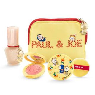 ポールアンドジョー(PAUL & JOE)のPAUL&JOE 2020年 クリスマスコフレ ドラえもんコラボ(コフレ/メイクアップセット)