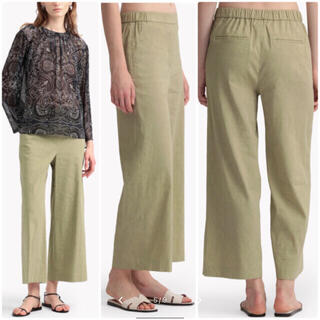 Theory luxe - theory luxe  20SS CRUNCH ワイドクロップドパンツ 36