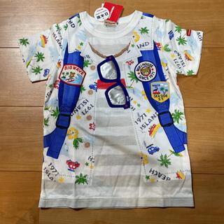ミキハウス(mikihouse)の新品✴ミキハウス☆だまし絵Tシャツ120(Tシャツ/カットソー)